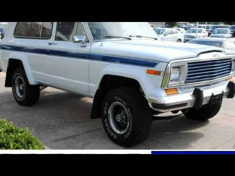 1982 jeep cherokee 4wd houston tx youtube. Black Bedroom Furniture Sets. Home Design Ideas