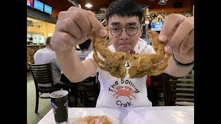 小泽vlog:墨西哥口味的香辣虾+软壳蟹 我自己吃一磅就跟玩似的