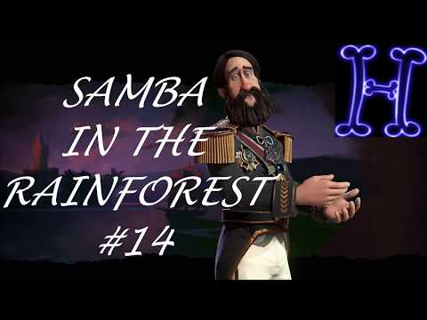 Civilization 6: #14 Cultural Victory?! - Samba in the Rainforest - Brazil Gameplay