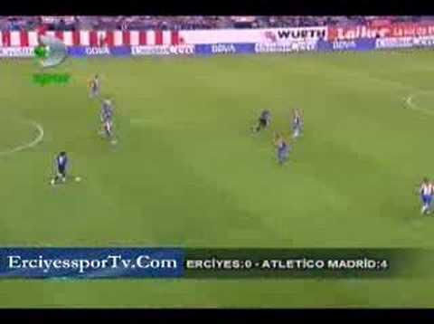 UEFA CUP: A.Madrid 4-Erciyesspor 0