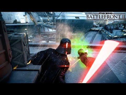 DARTH VADER Heroes Vs Villains KAMINO GAMEPLAY  - Star Wars Battlefront 2