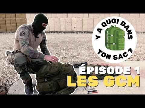 [Y-a quoi dans ton sac de GCM] - Groupement commando du 13e BCA