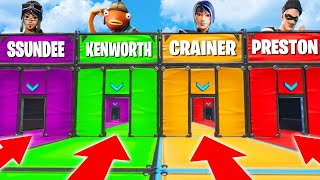 The ULTIMATE Fortnite YouTuber Quiz! (Fortnite Creative Mode Mobile)