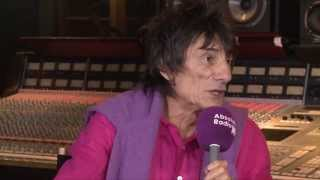 Ronnie Wood (The Rolling Stones) interview with Chris Martin Part 2