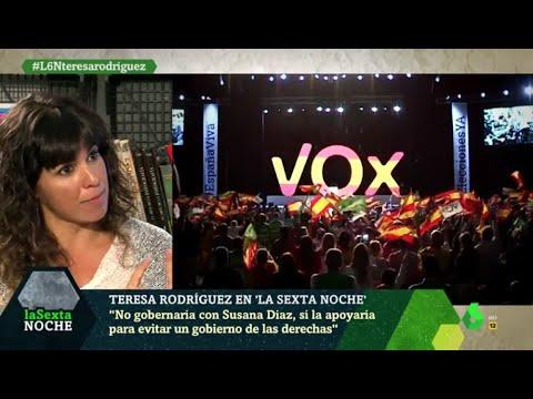 """Teresa Rodríguez: """"Las cuestiones identitarias beneficia a quien no habla de alquiler y la luz"""""""
