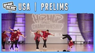 United Dance Crew - Coolidge, AZ (Adult) at the 2014 HHI USA Prelims