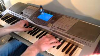 Hype: the Time Quest - Main Theme on piano (+ sheets)