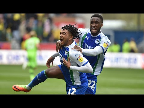 HIGHLIGHTS: Wigan Athletic 1 Norwich City 1 - 14/04/2019