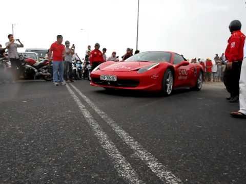 Đoàn xe siêu xe Car & Passion từ Sân Bay về Resort