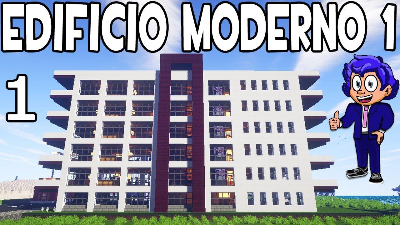 Edificio moderno 1 en minecraft parte 1 presentaci n for Blancana y mirote minecraft