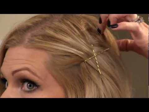 How to Bobby Pin Your Hair