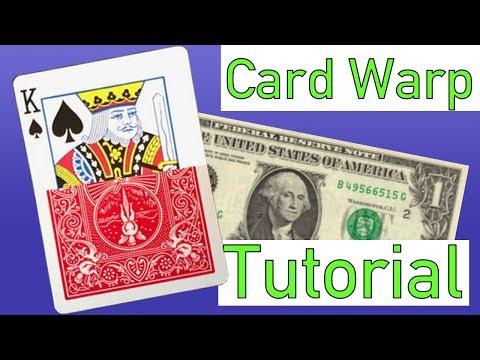 IMPOSSIBLE CARD WARP - MAGIC TUTORIAL