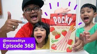 Makan Pocky Super Raksasa Snack Hongkong Part 2 2 3