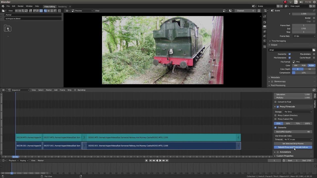Blender 2 80 Tutorial: Basic Video Editing Using The Video Editor  A  Blender Beginners Tutorial