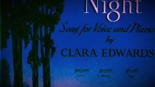 Into The Night, music & lyrics by Clara Edwards.