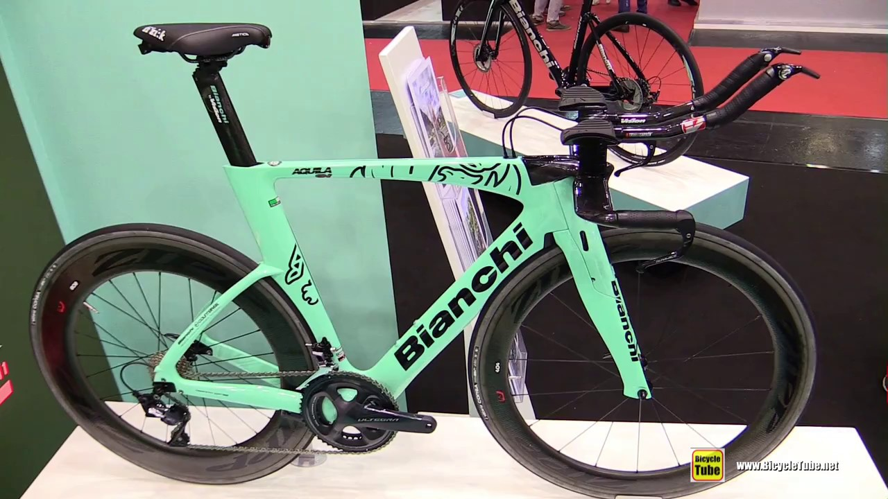 2018 Bianchi Aquila CV Triathlon Bike   Walkaround   2017 Eurobike