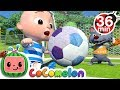 Gambar cover The Soccer Football Song + More Nursery Rhymes & Kids Songs - CoComelon