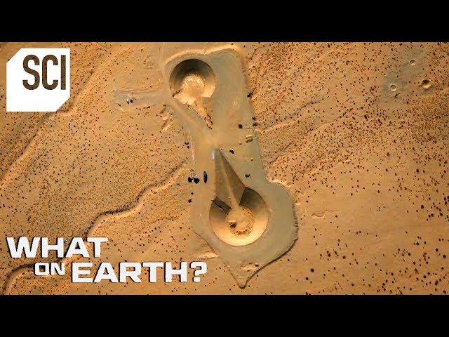 Two Millennium Falcon Shaped Objects in the Desert | What on Earth?