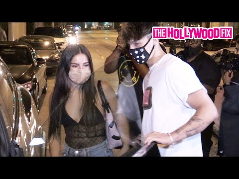 Addison Rae, Bryce Hall, Tayler Holder & The Nelk Boys Cause Chaos While Leaving Dinner At Catch