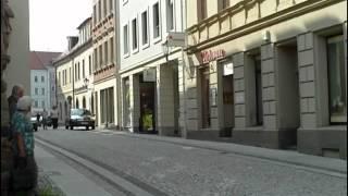 Innere Bautzner Straße in Löbau