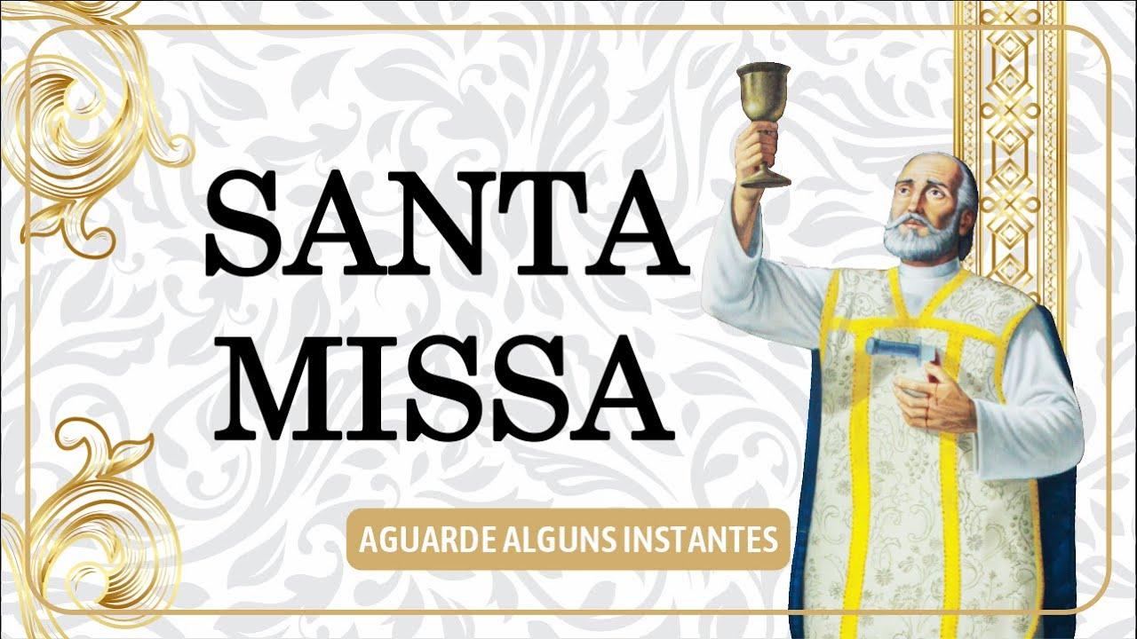 Santa Missa da 33ª Semana do Tempo Comum - Quinta-Feira - AO VIVO