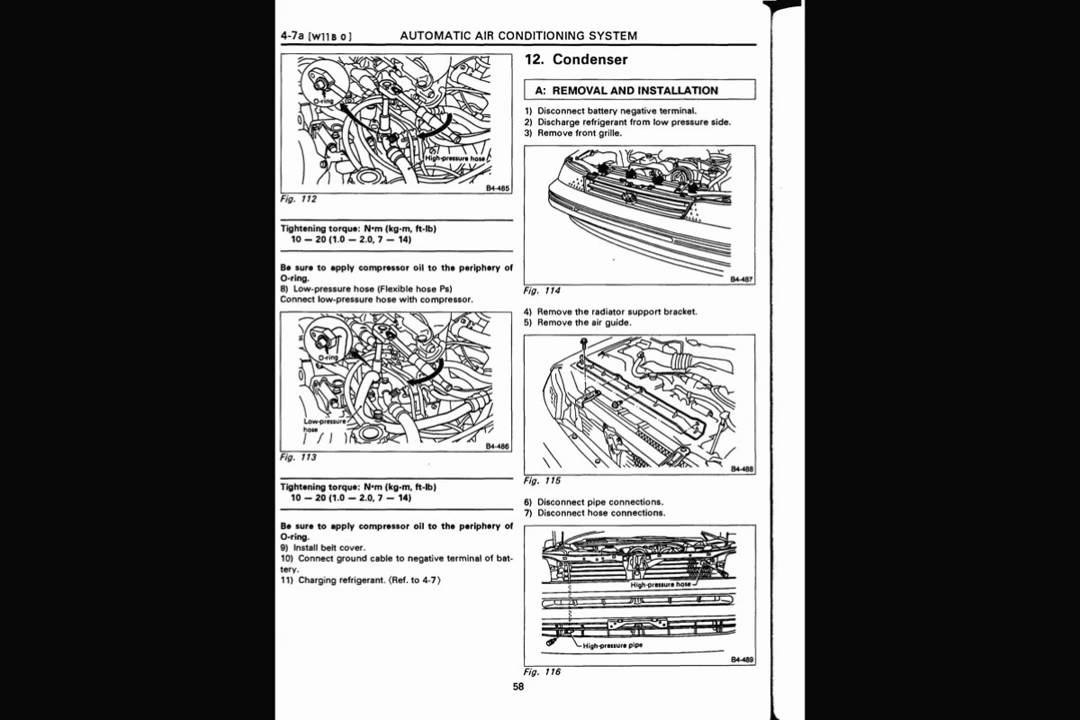 subaru legacy 1990 service manual supplement youtube rh youtube com Subaru Vivio Subaru XT
