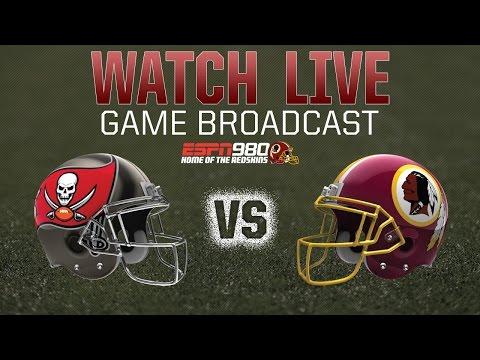 Redskins Radio Booth LIVE vs. Buccaneers