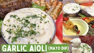Garlic Aioli Recipe | Pinoy Flavor