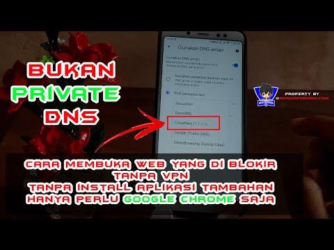 Cara Aktifkan Fitur DNS Google Chrome Di Android   Cocok Buat Yang Tidak Mau Install VPN