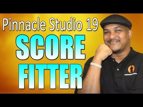 Pinnacle Studio 19 Ultimate   Scorefitter Tutorial