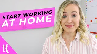 5 Work At Home Jobs And How To Start TODAY