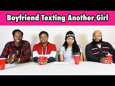 my bf is dating another girl