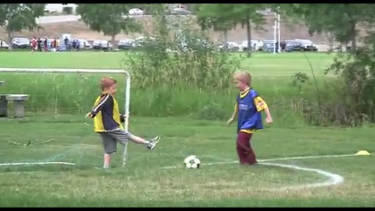 Should Kids Be Allowed To Play Soccer >> Little Kids Play Soccer Youtube