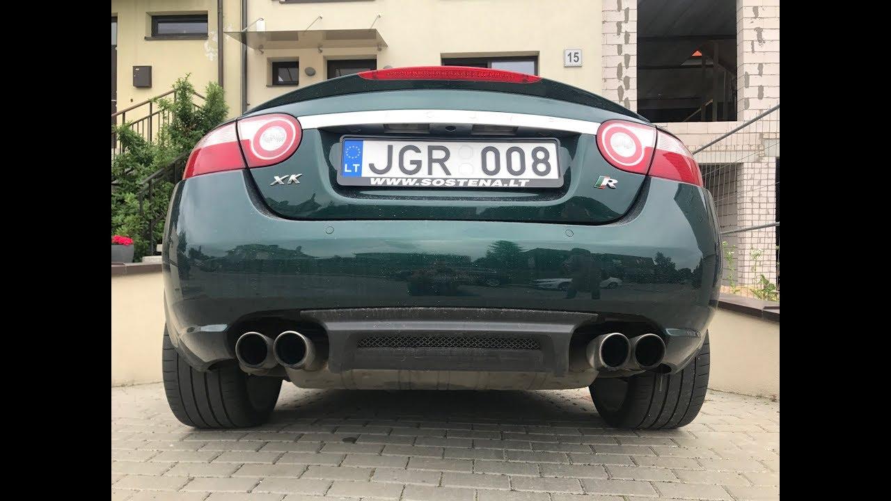2008 jaguar xkr 🇬🇧| styling, sound & acceleration | darius motor hobby