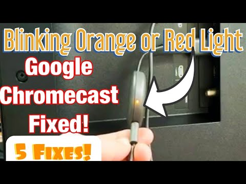 Flashing Orange or