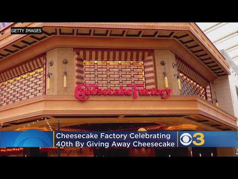 The Wake Up Show - The Cheesecake Factory Is Celebrating Their 40th With Free Slices!