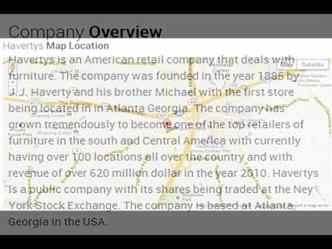 Havertys Corporate Office Contact Information - YouTube