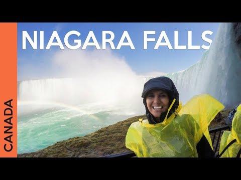 Exploring the Niagara Falls in Ontario, Canada