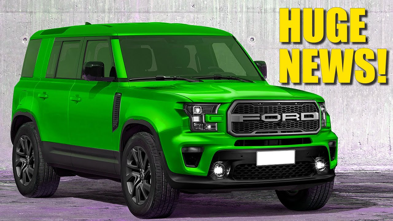 2020 ford bronco breaking news - removable roll cage and more