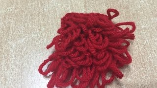 Tuto point boucle au crochet