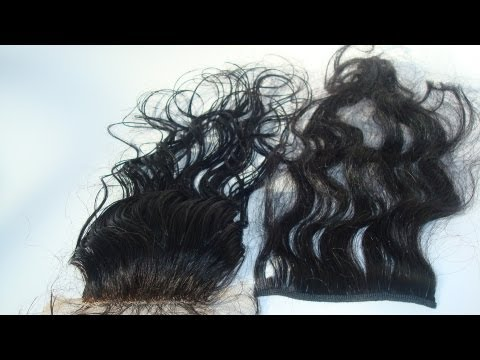 """Natural Lace Closures 3x3"""""""" / Custom Wigmaking Services 
