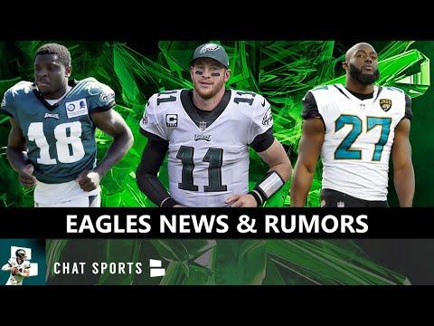 Eagles Injury News On Jalen Reagor & Carson Wentz + Eagles Rumors On Signing Leonard Fournette