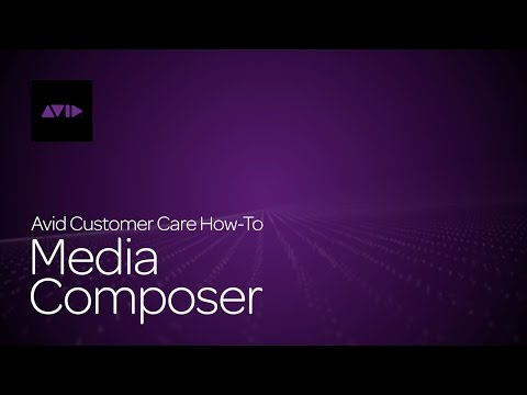 What's New in Media Composer (8.1)