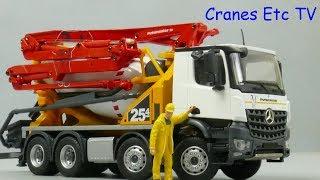 Conrad Putzmeister Pumi 25-4 Pump Mixer by Cranes Etc TV