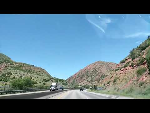 Highway I-70 Colorado June 2017