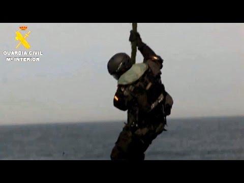 20 toneladas de hachís y 109 detenidos en el Mediterráneo