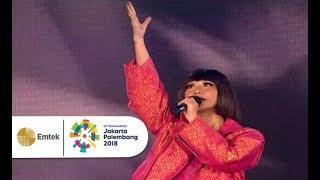 Download lagu BCL feat. JFlow - Aku Wanita dan Dance Tonight | Closing Asian Games 2018