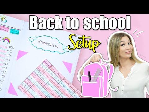 Bullet Journal SCHULE - DAS Back To School SETUP Im BUJO