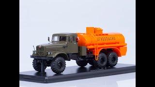 Огляд посилки з моделлю від SSM АЦ-8,5 (КРАЗ-255Б)