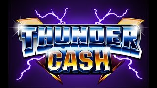 High Limit Slot Machine Bonus - Thunder Cash - Ainsworth